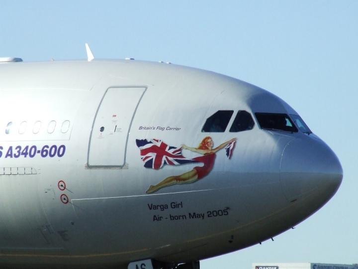 Virgin Atlantic Varga Girl, CC Simon_sees Flickr