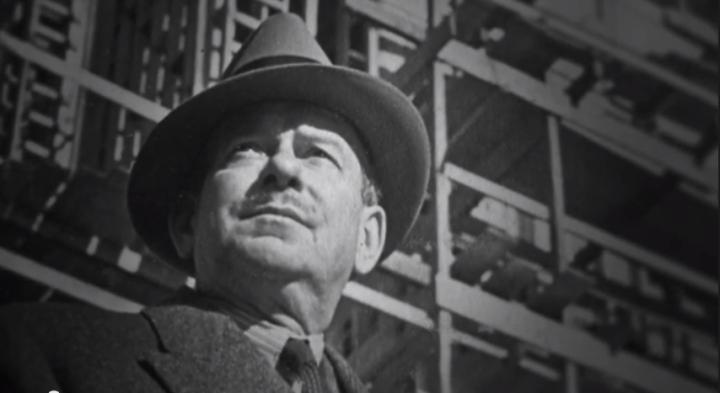 Walter Dorwin Teague, screen capture from Trailer