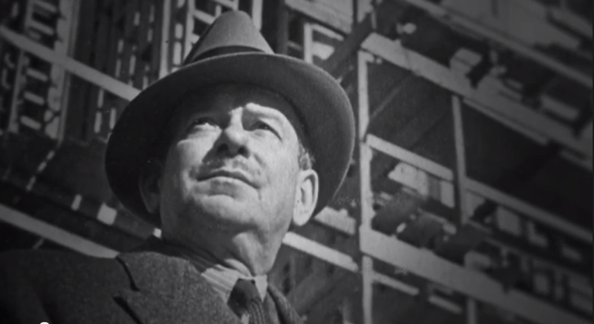 Walter Dorwin Teague, screen capture from Trailer