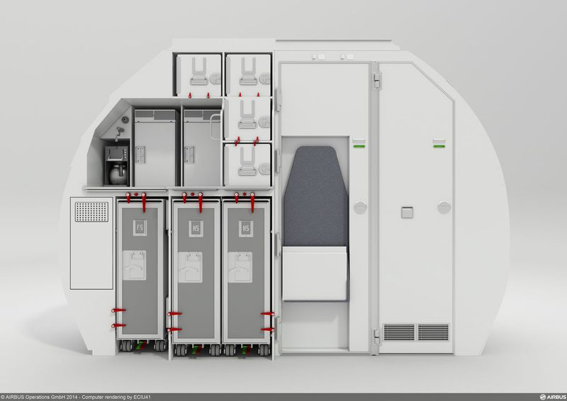 Airbus Amp Zodiac New Space Flex V2 Cabin Leaves Room To