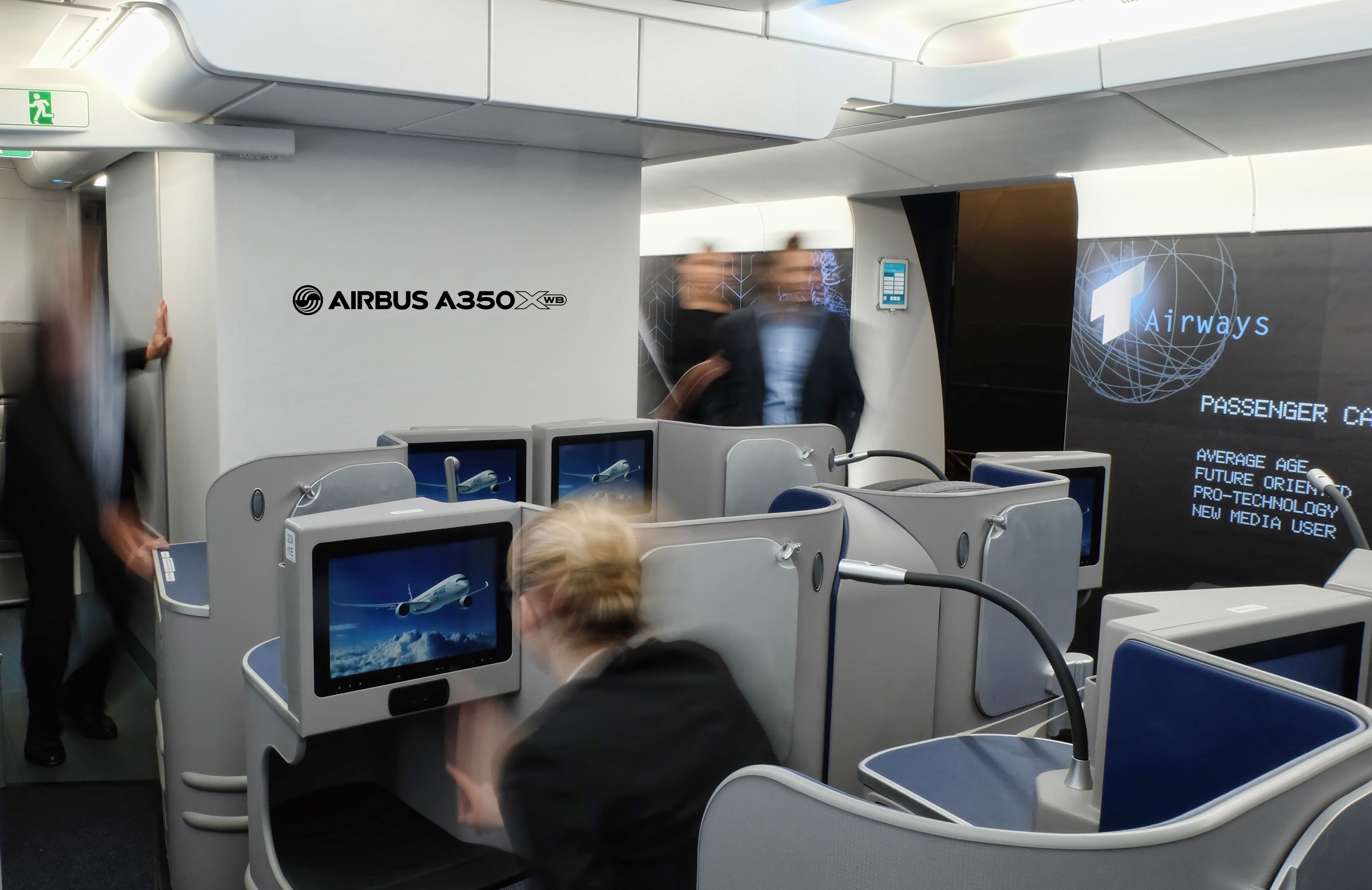 X marks the sweet spot a picture guide to the airbus a350 for Interieur definition