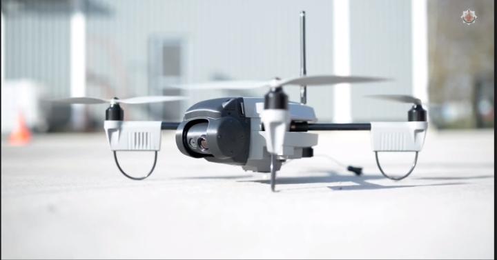 Sky-Watch UAV Huginn X1 autonomous drone system, GMFR Air Unit Video Still