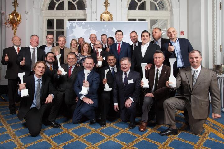 2015 Crystal Cabin Award Winners Group photo./ Hamburg Aviation