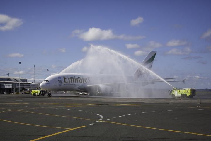 EmiratesAucklandDirect_Water-Salute