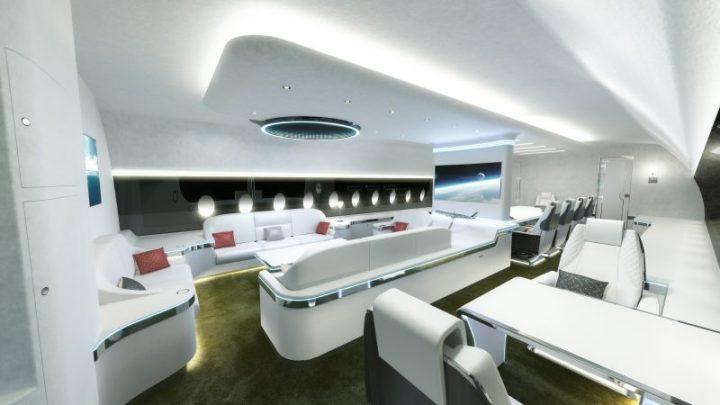 2a Airbus ACJ350 Lounge by ACJ