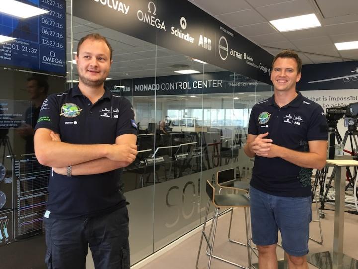 Inside Solar Impulse Monaco Control Centre, © FCMedia 2016
