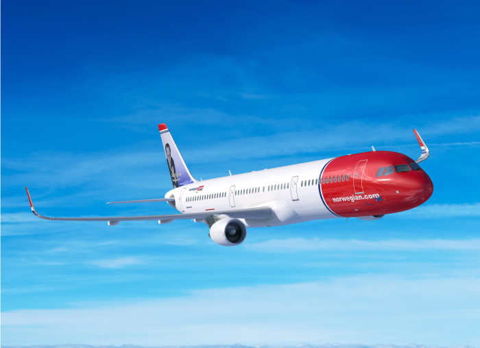 Norwegian orders 30 A321LR (Long Range) aircraft.