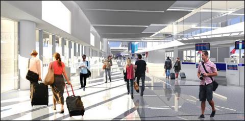 Delta LAX Terminal update rendering, Source: Delta News Hub